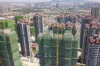 720全景展示淮北恒大中央公園最新工程進度及周邊環境