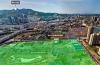 720全景展示淮北港利文庭雅苑及泉山路高架橋周邊環境